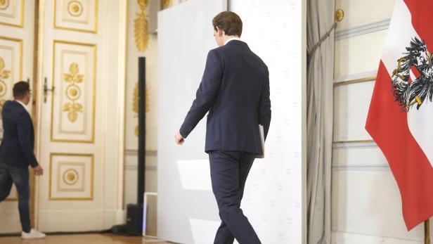 REGIERUNGSKRISE: STATEMENT BUNDESKANZLER SEBASTIAN KURZ (ÖVP)