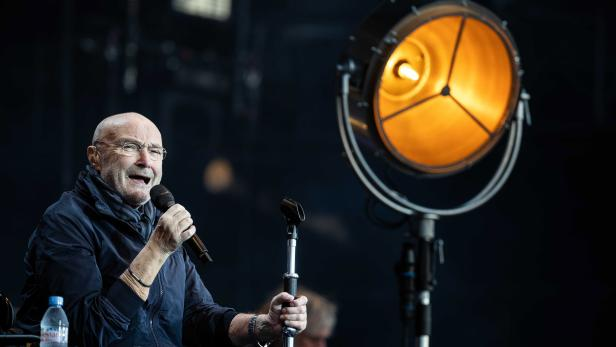 Phil Collins in the Goffertpark