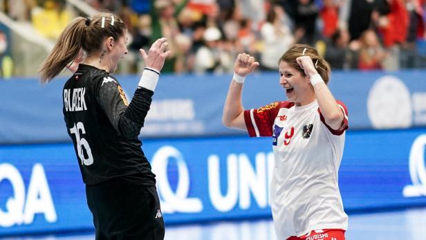 Handball, Oesterreich -  Rumaenien