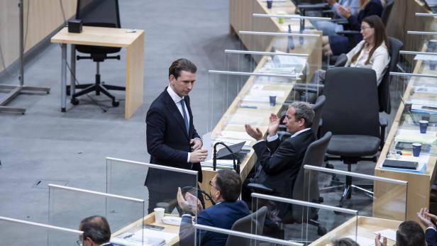Session of Austrian Parliament
