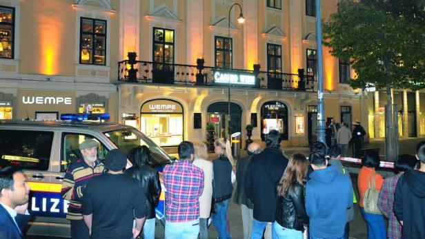 Bombendrohung In Der Kärntner Straße Kurierat