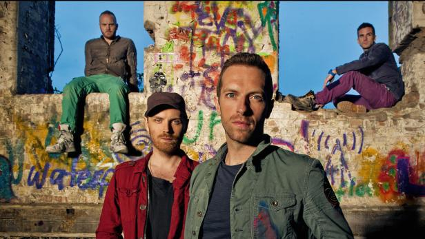 Fünf Coldplay-Songs als Gratis-Download | kurier at