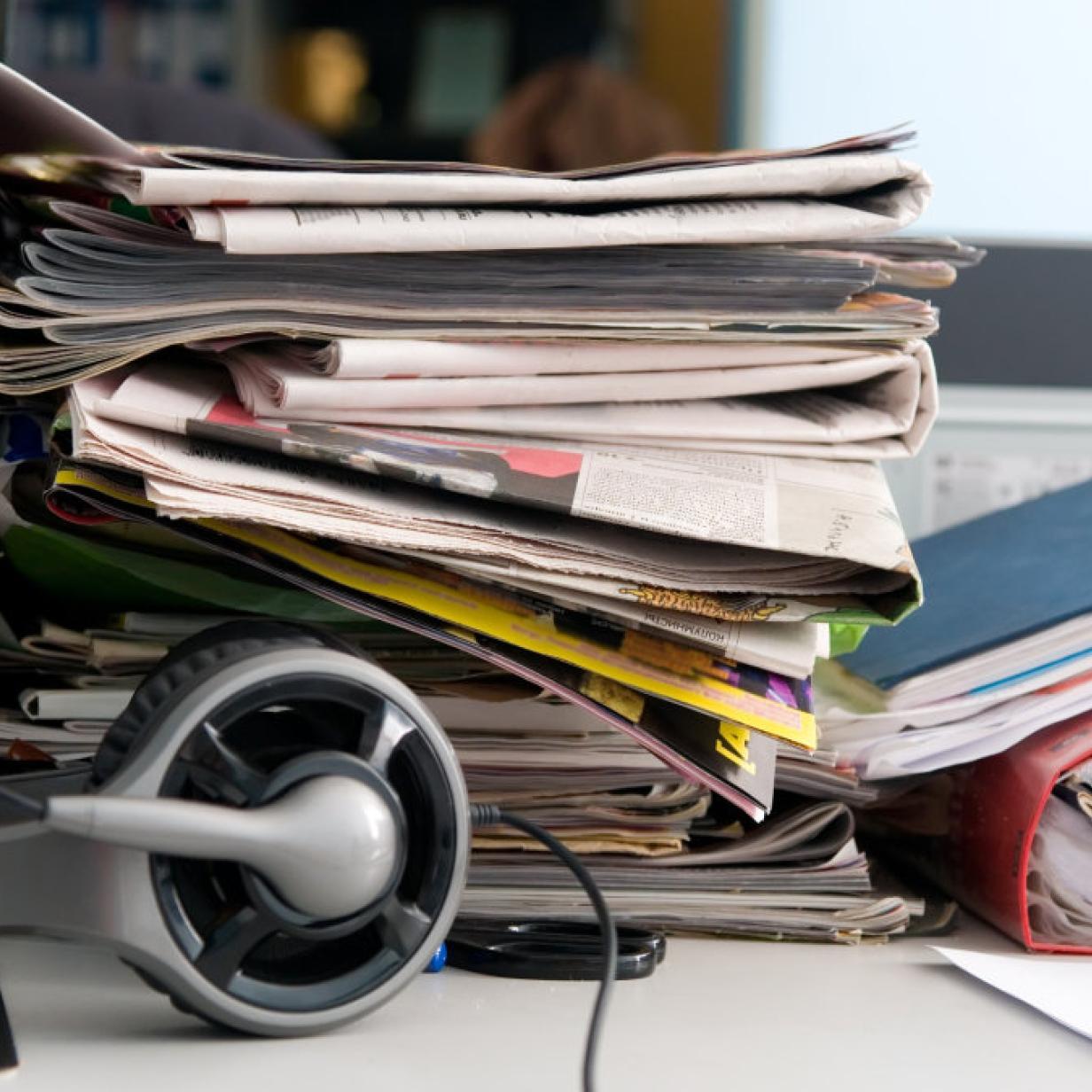 Chaos Auf Dem Schreibtisch Ist Unordnung In Ordnung Kurier At