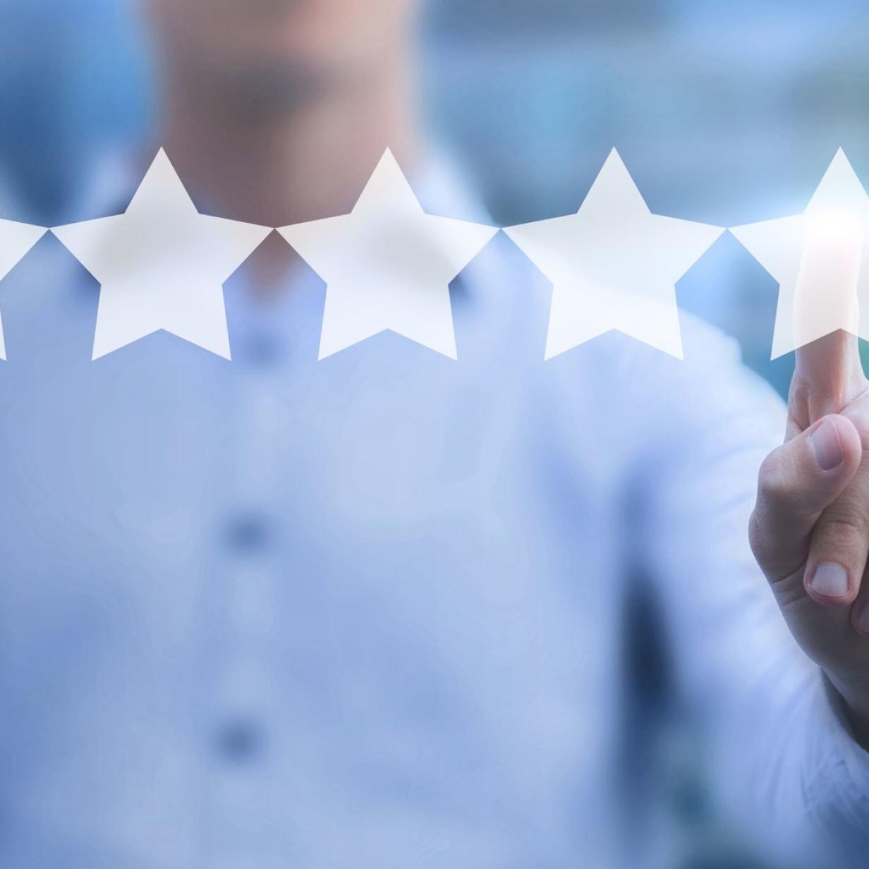 Online-Bewertungen: Die Macht der Sterne