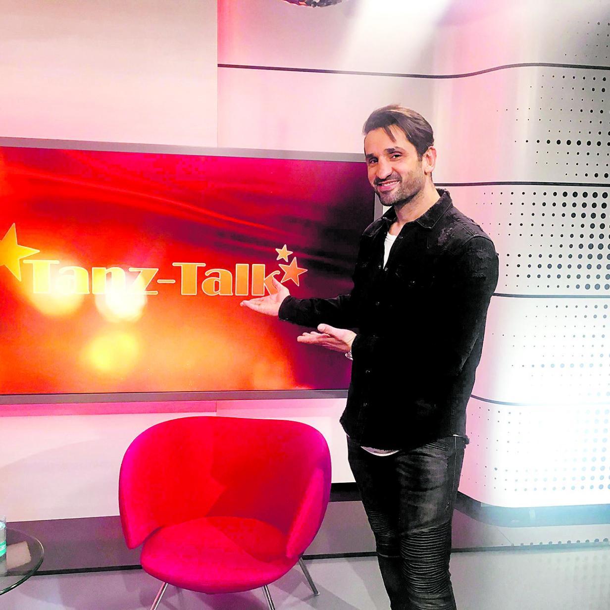 Fadi Merza über blank liegende Nerven bei Dancing Stars