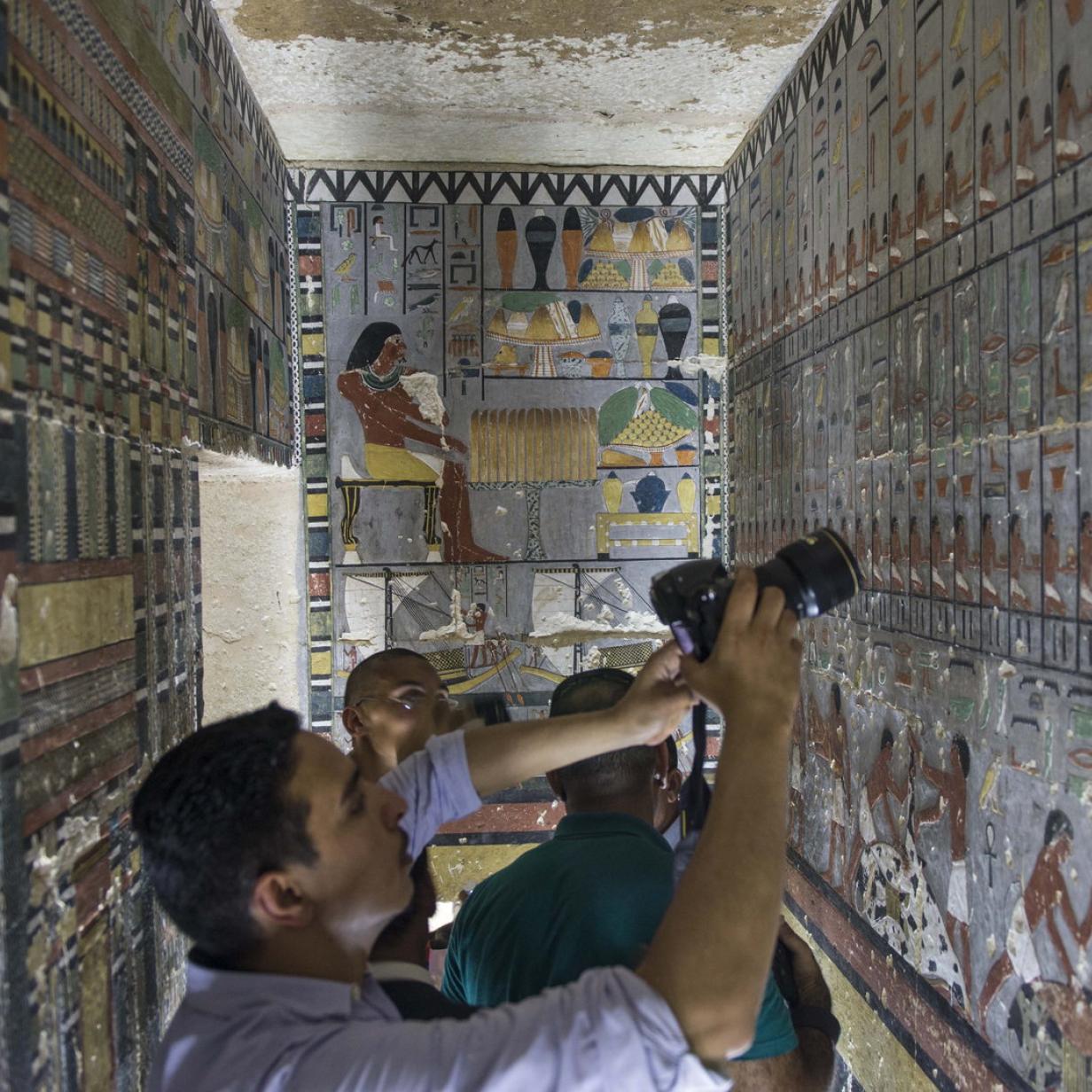 Ägypten: Wissenschafter staunen über 4500 Jahre alte Grabkammer