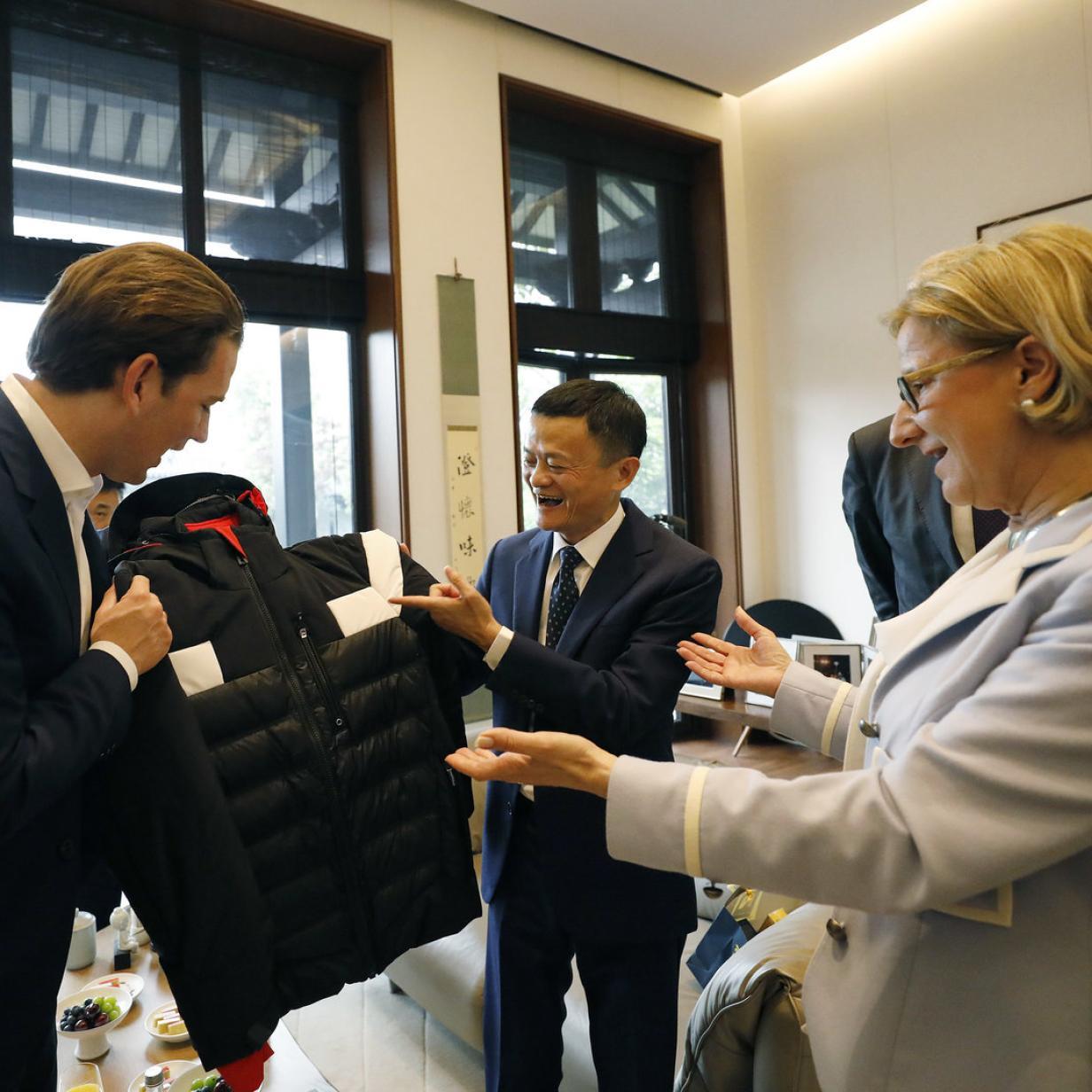 Alibaba-Chef holt 30 österreichische Firmen auf seine Plattform