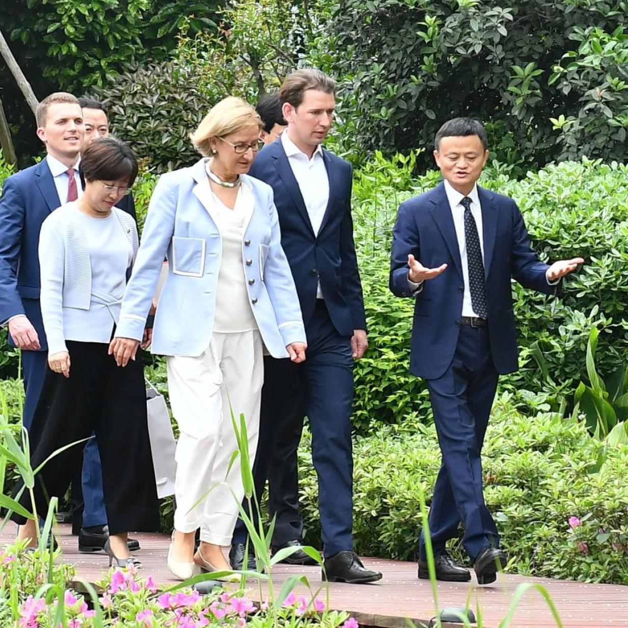 Kurz in China: Alibabas Weltverbesserungsmission