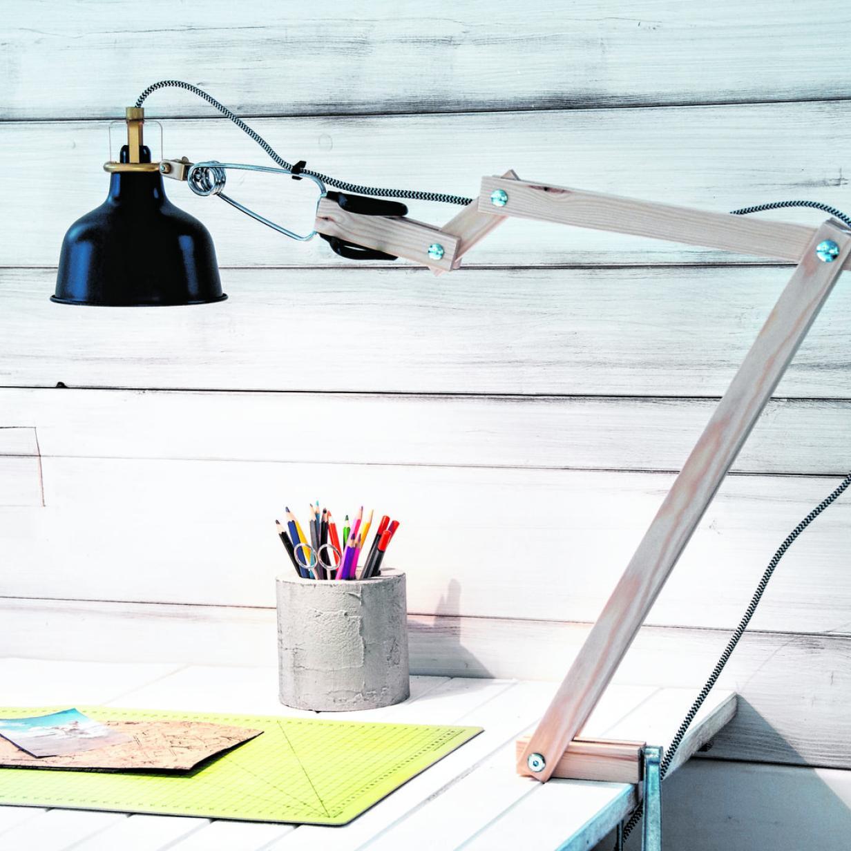 Do it yourself: Lampe ohne Schattenseite