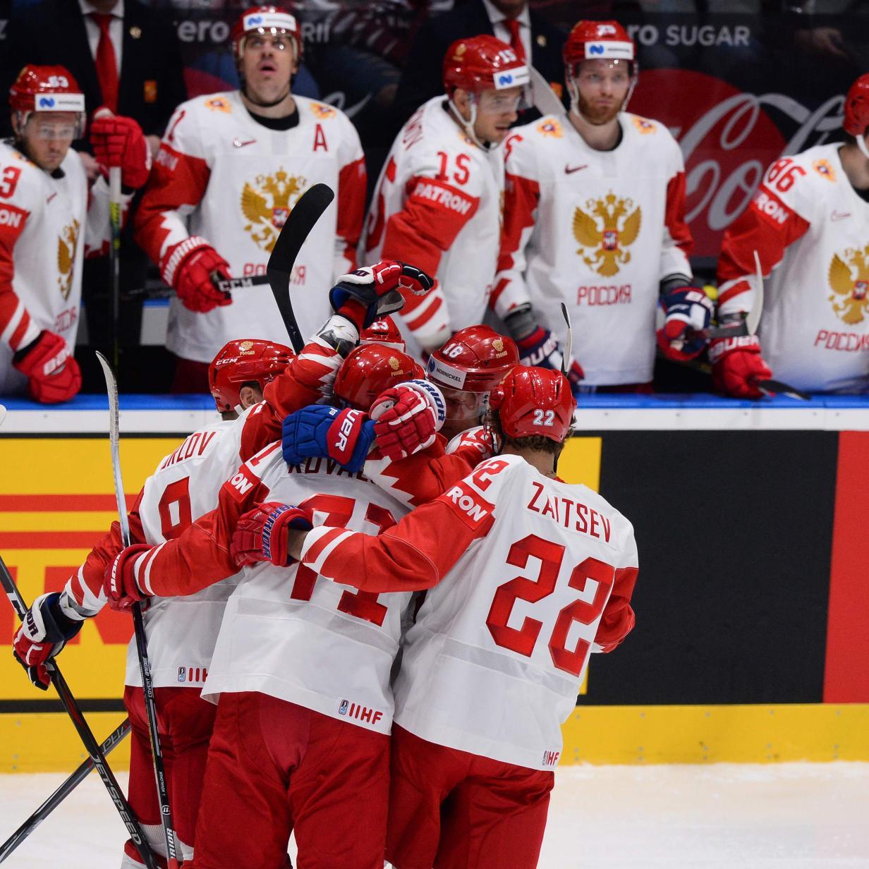 Eishockey-WM: Russland und Finnland erste Viertelfinalisten
