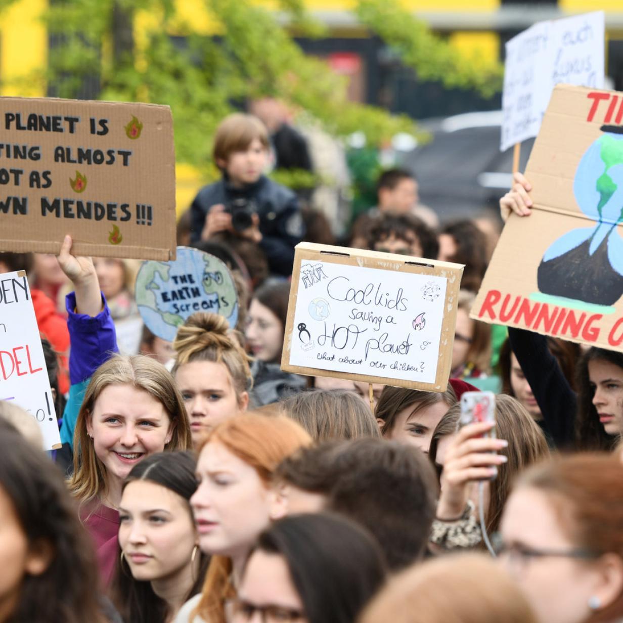 Schülerproteste gegen Klimawandel so groß wie noch nie