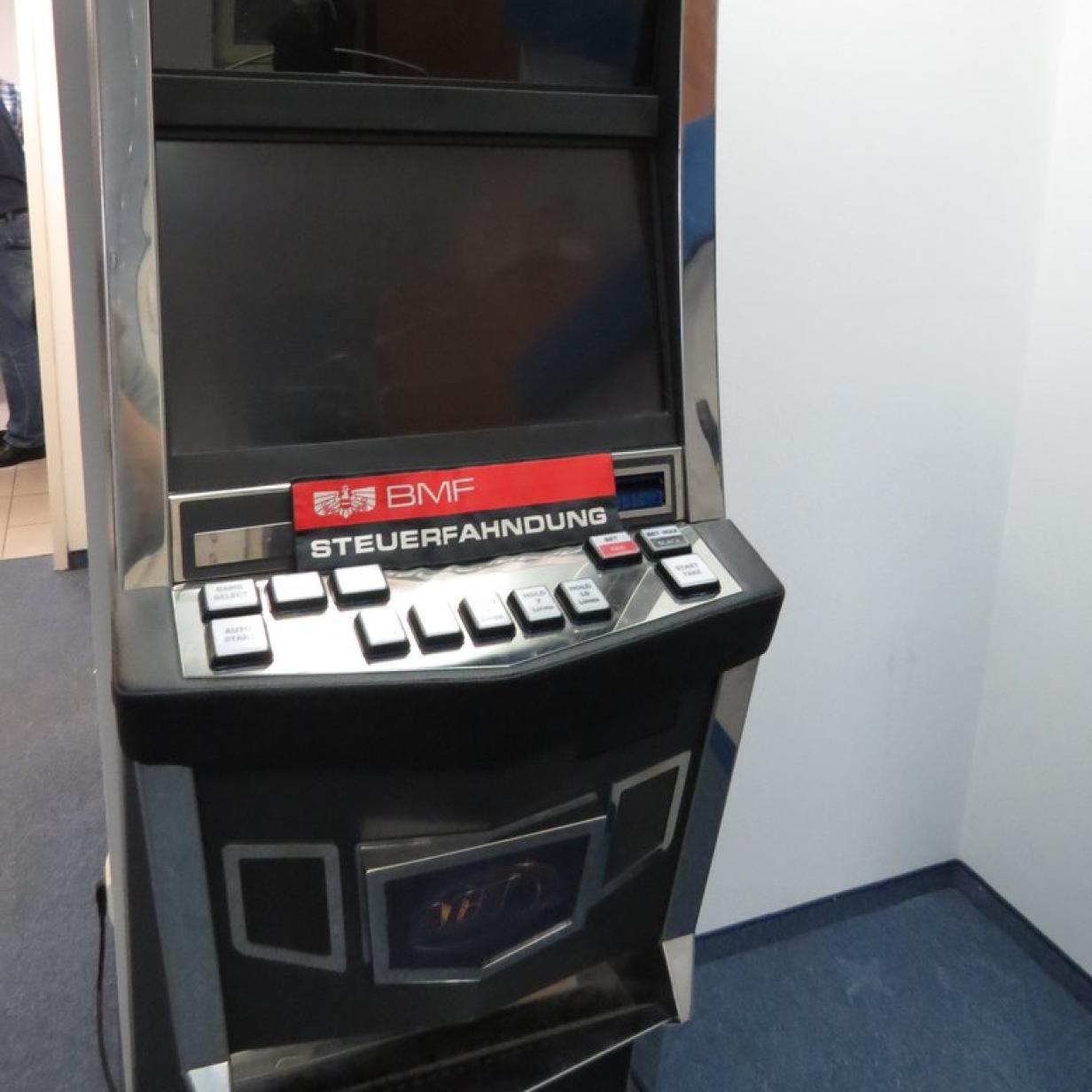 5.803 illegale Automaten in drei Jahren sichergestellt