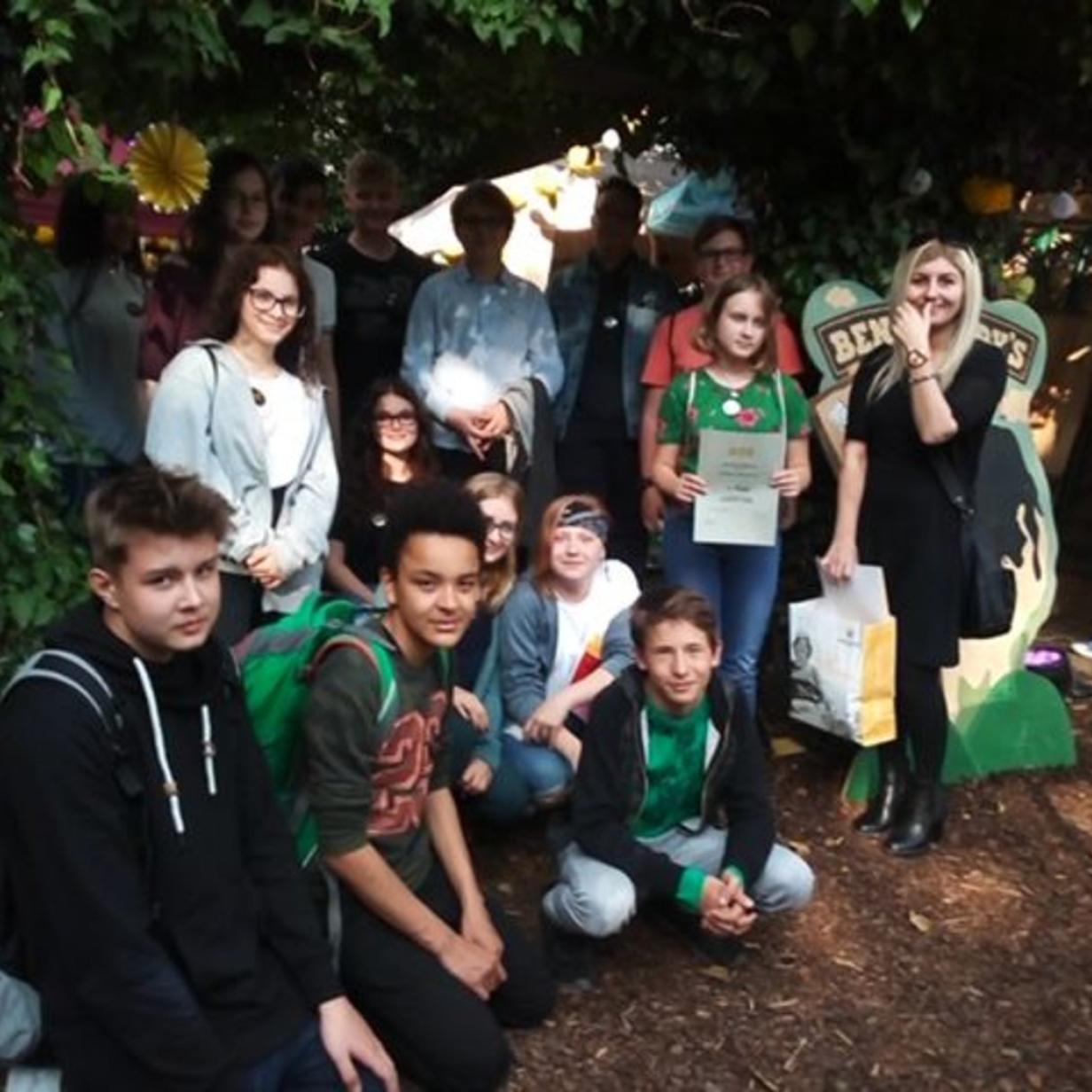 Schüler spendeten für Haus der Menschenrechte