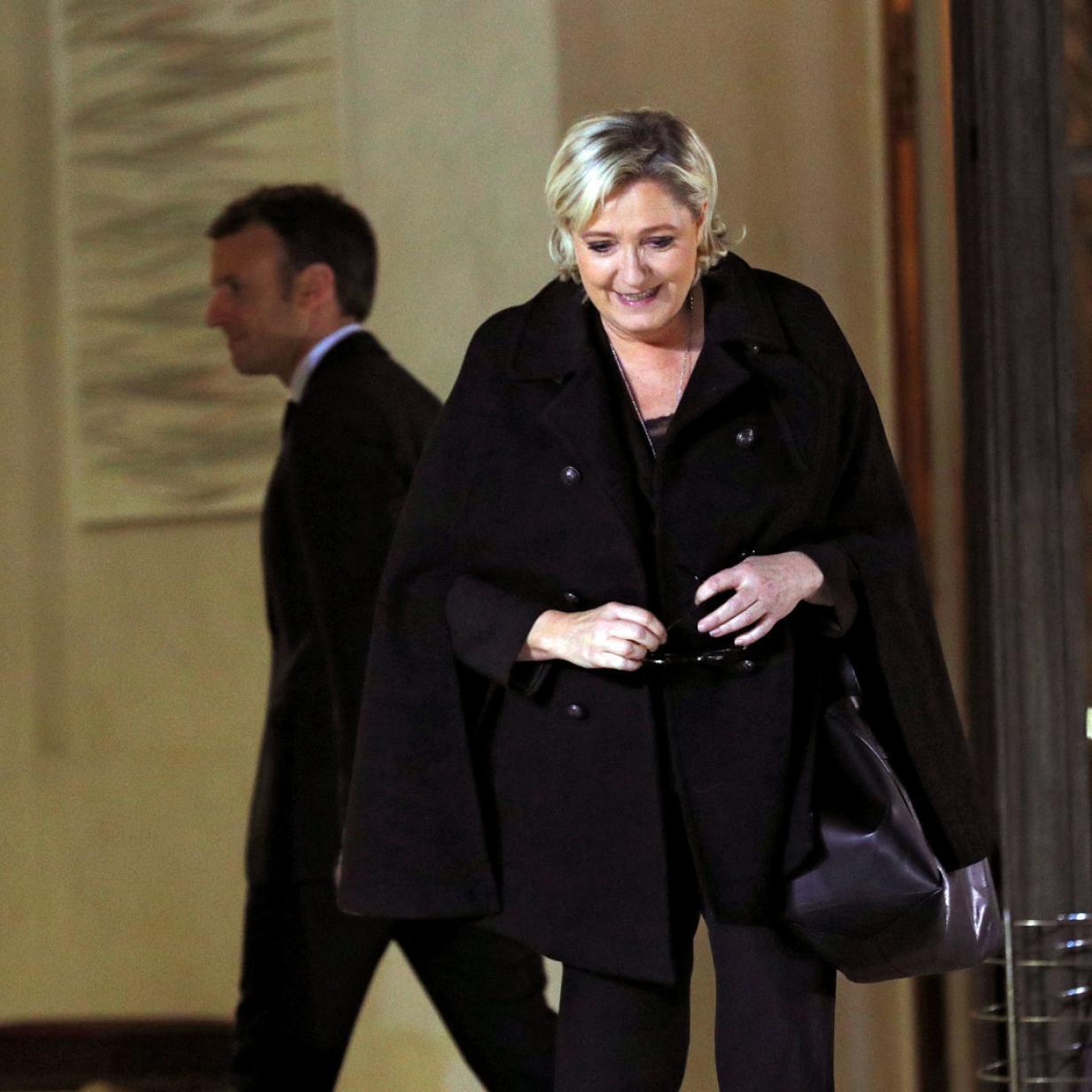 Frankreich: Neues Duell Le Pen gegen Macron