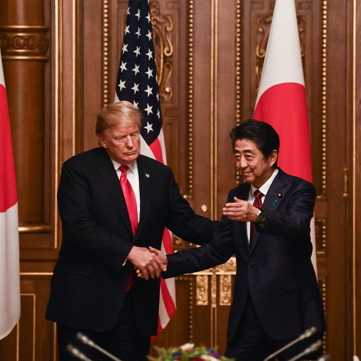 Trump von Japans neuem Kaiser empfangen