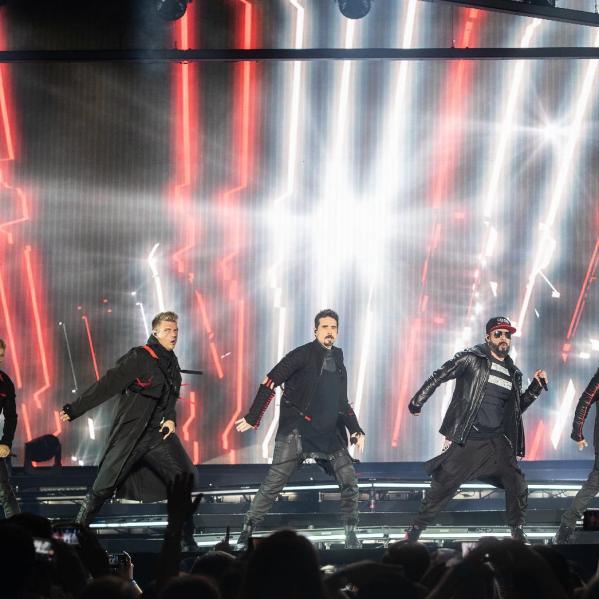 "Backstreet Boys live: Perfekte Show für ""Oh, Baby""-Einheitsbrei"