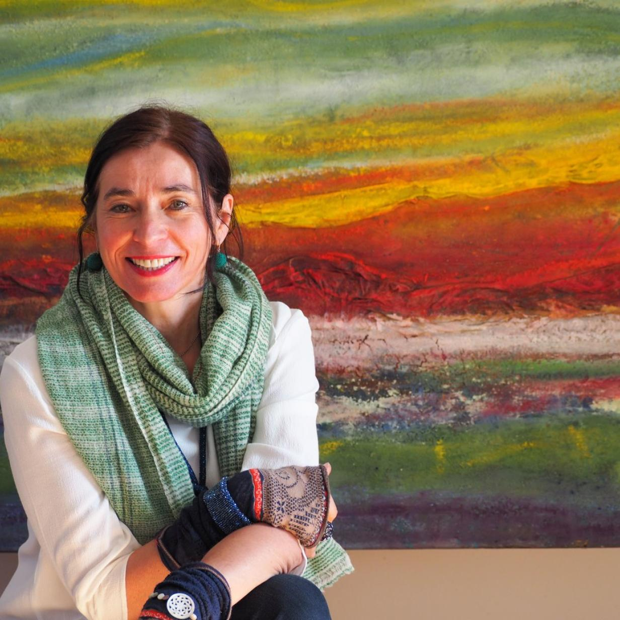 """Künstlerin Lisa Wolf Telek: """"Ich habe Nepal überlebt"""""""