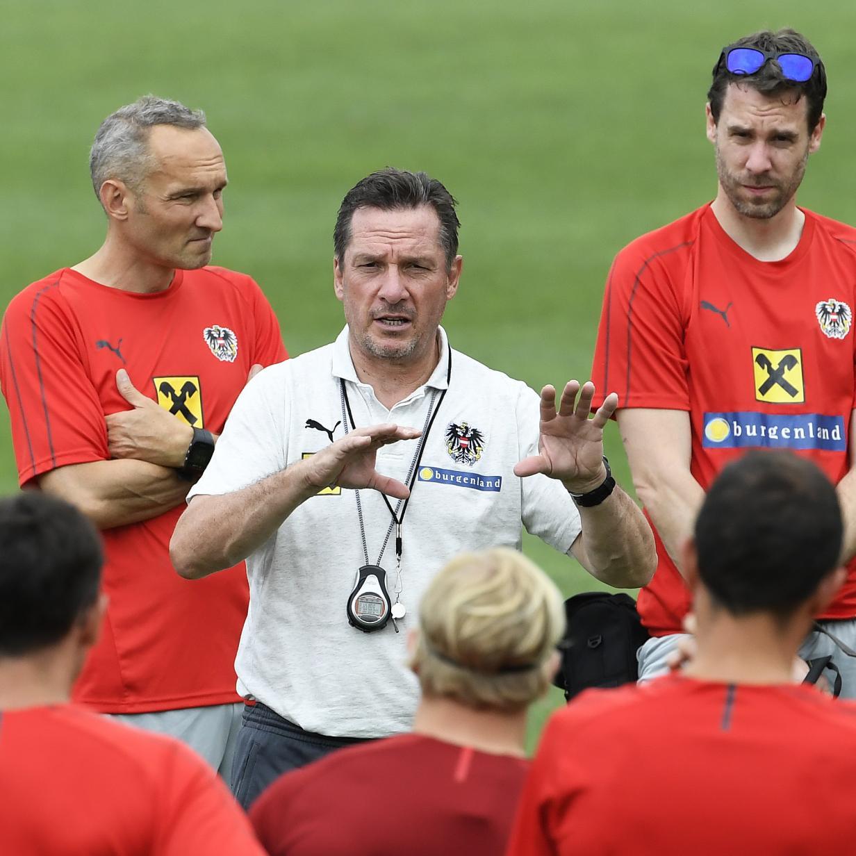 Gregoritsch pur: Der U-21-Teamchef macht den Kader-Check