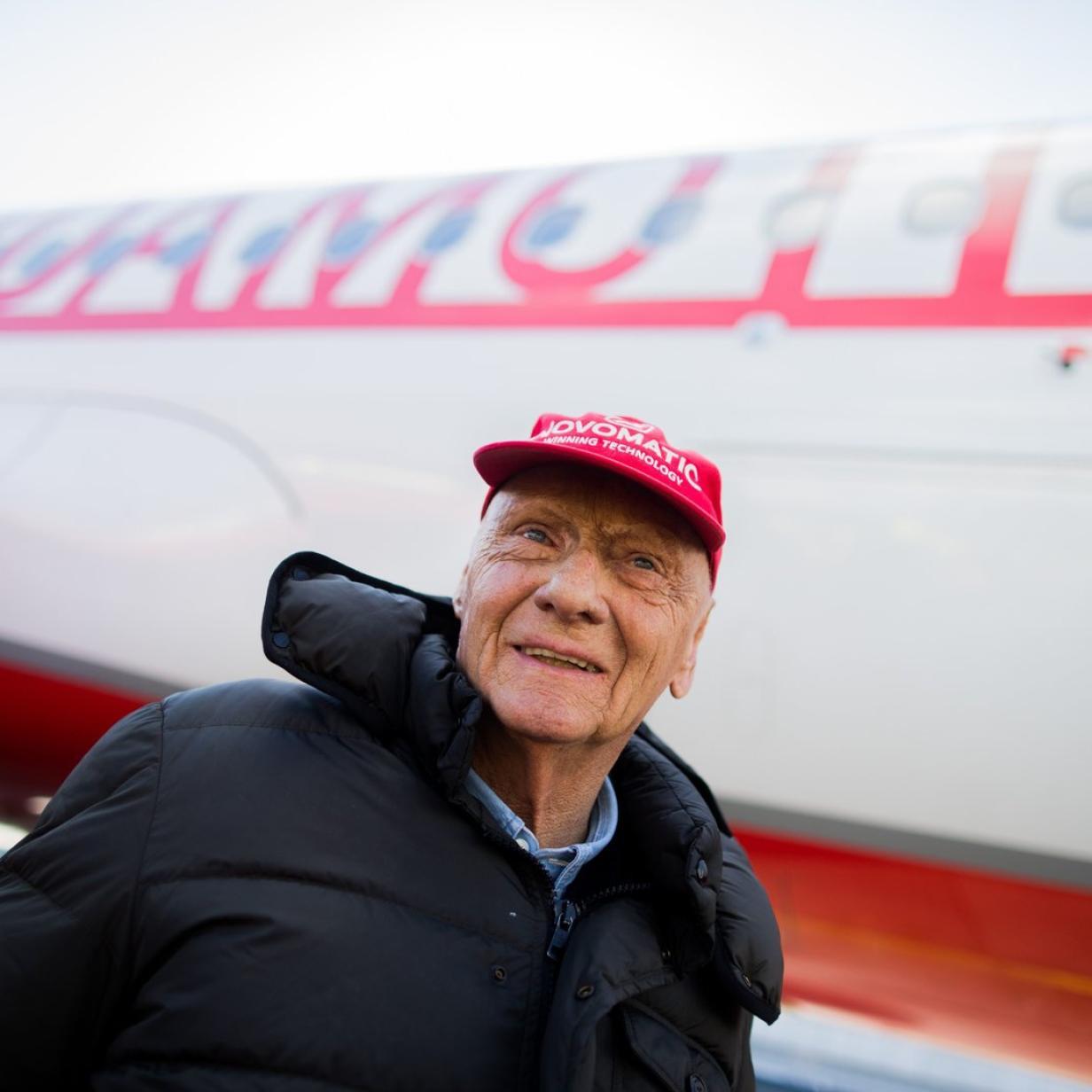 Niki Laudas Privatjet steht nun zum Verkauf