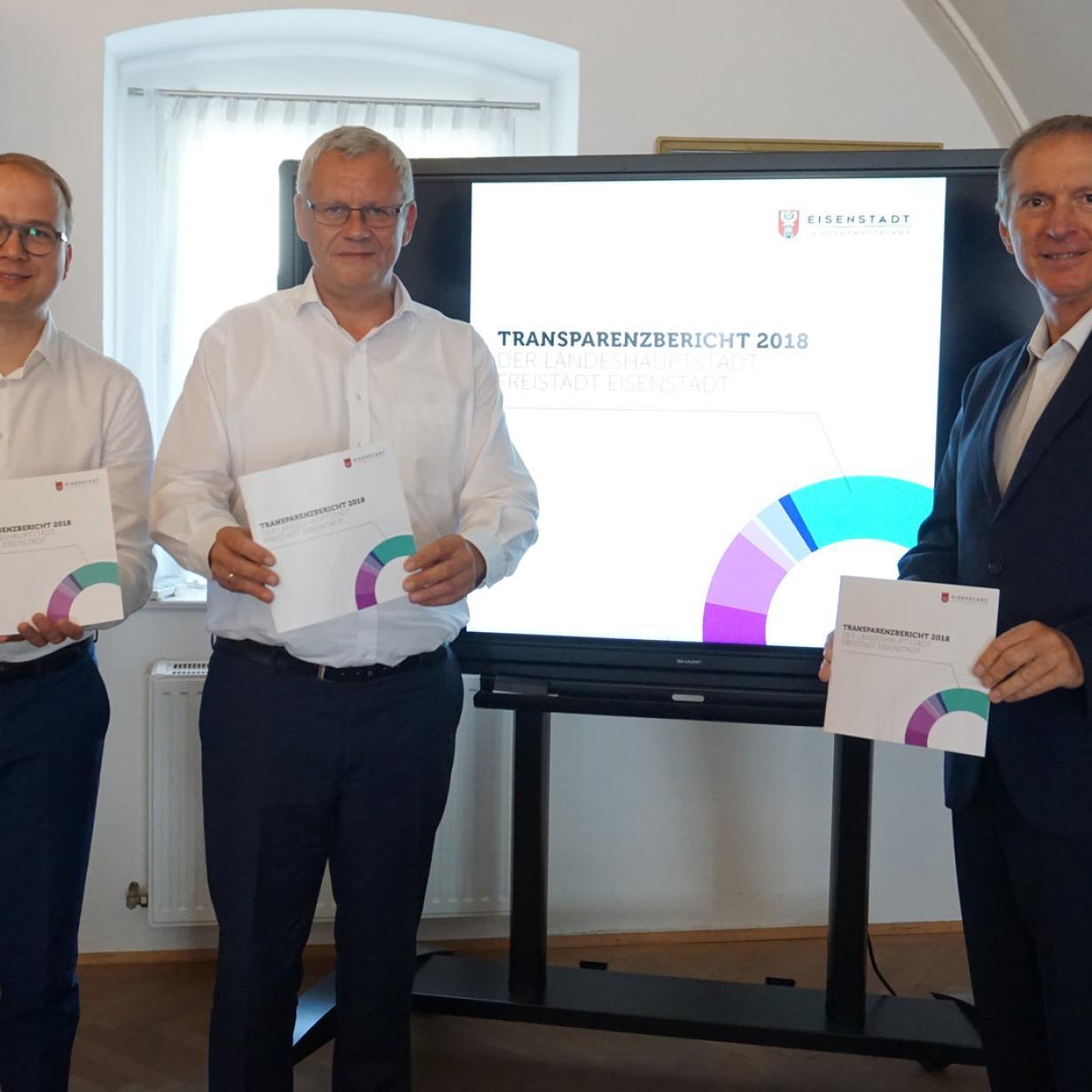 Eisenstadt legt ersten Transparenzbericht vor