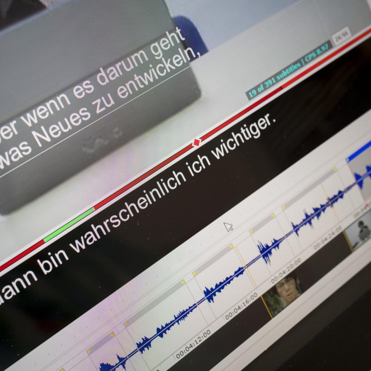 Von der Säure zur Software: Wie Untertitel in den Film kommen