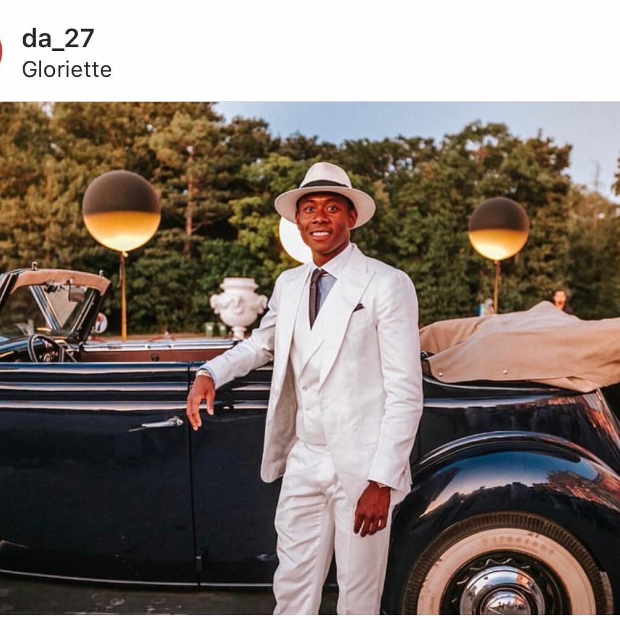 Die Nummer 27 wurde 27: So feierte David Alaba Geburtstag