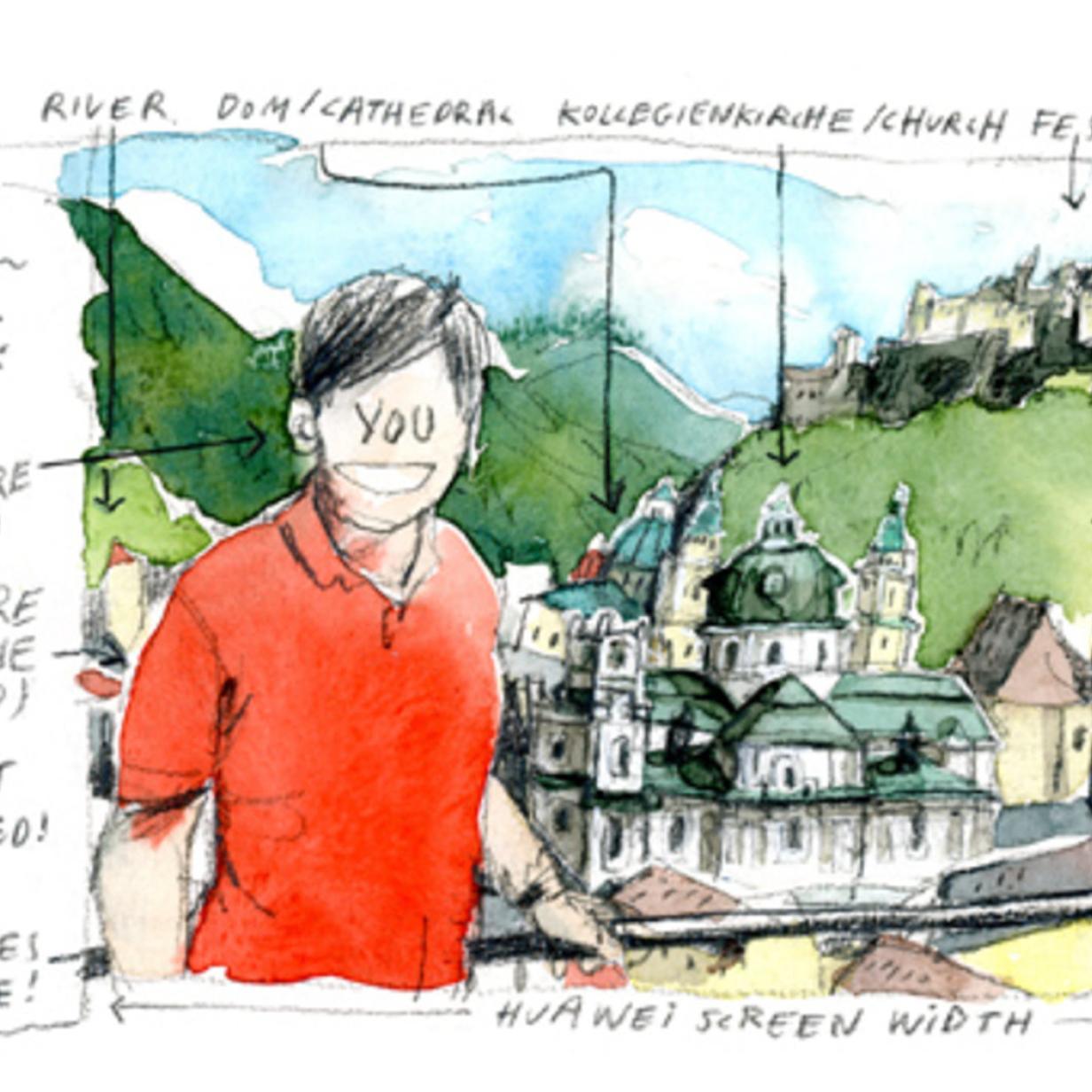 Christian Seilers Gehen: Rot sehen in Salzburg