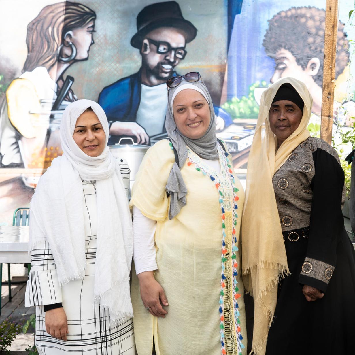 Flüchtlinge kochen: Wo man bei Fattoush ins Gespräch kommt