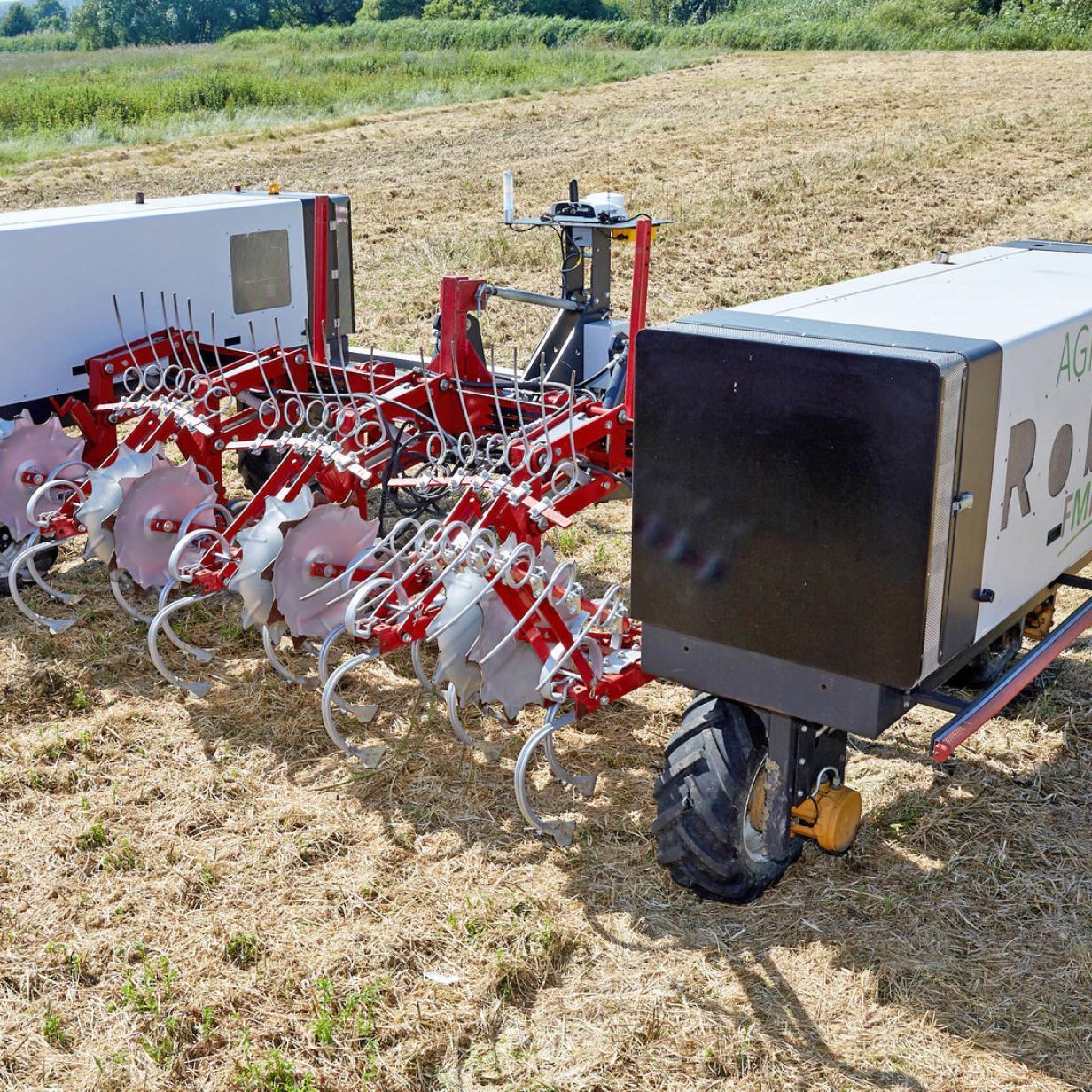 Die Roboter erobern die Landwirtschaft