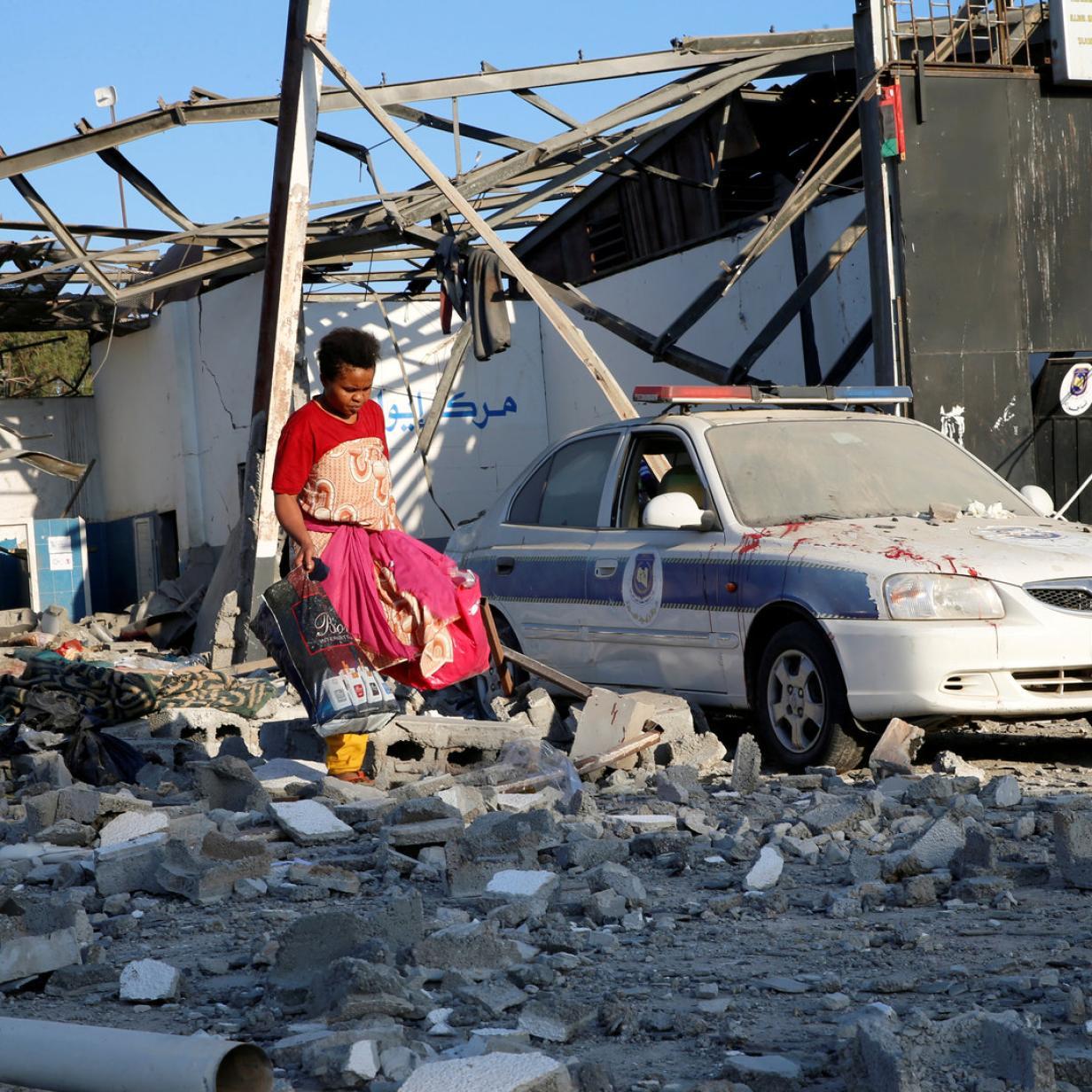 """Chaos in Libyen: """"Eine halbe Million Menschen in den Händen von Schleppern"""""""