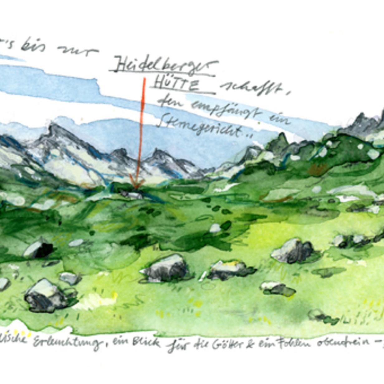 Christian Seilers Gehen: Irgendwo überquerte ich die Grenze