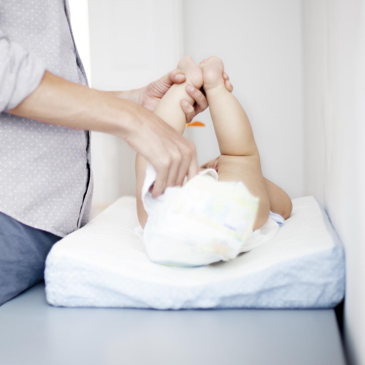 Hightech am Baby-Popo: Pampers entwickelt smarten Wickel-Sensor