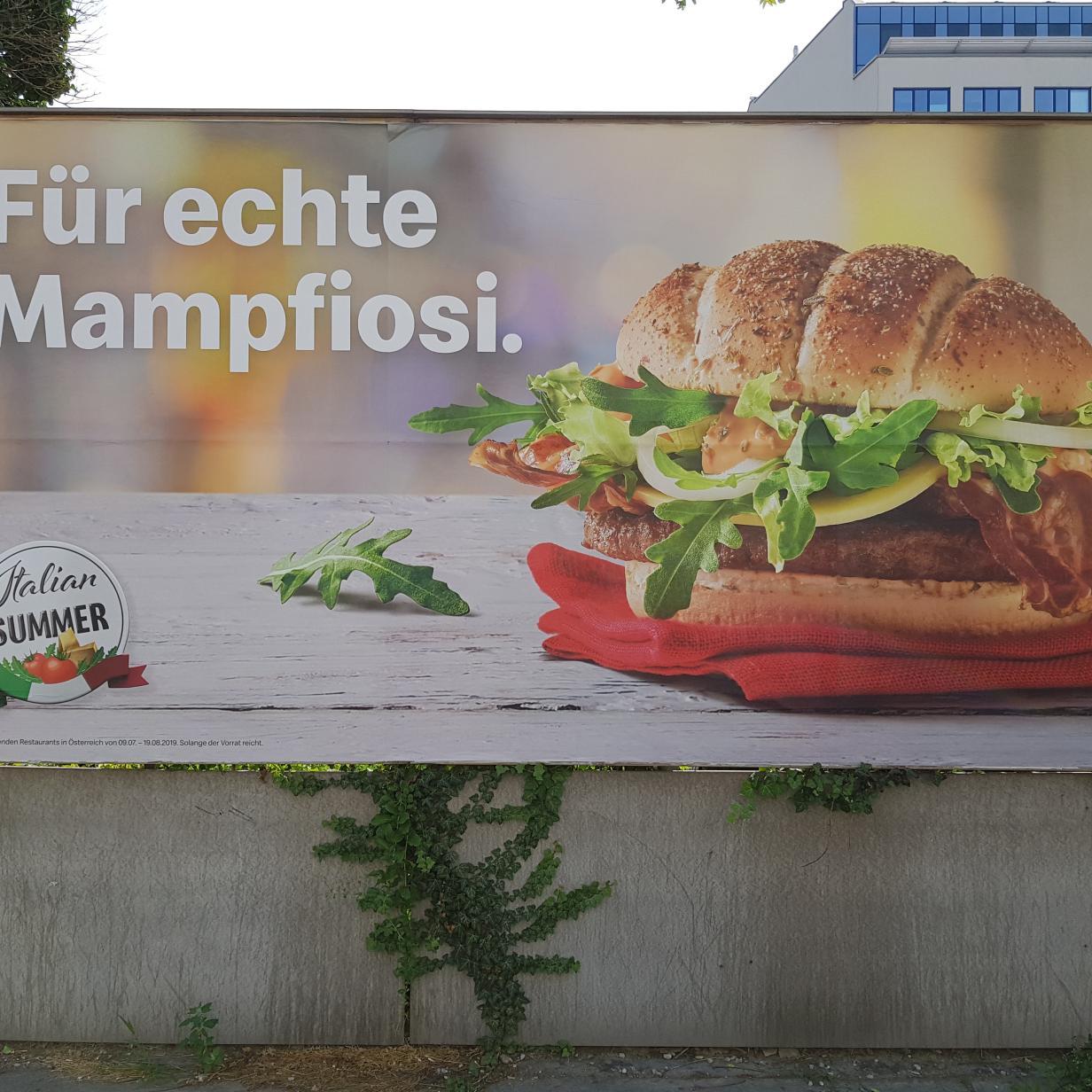 McDonald's Österreich beschimpft Italiener
