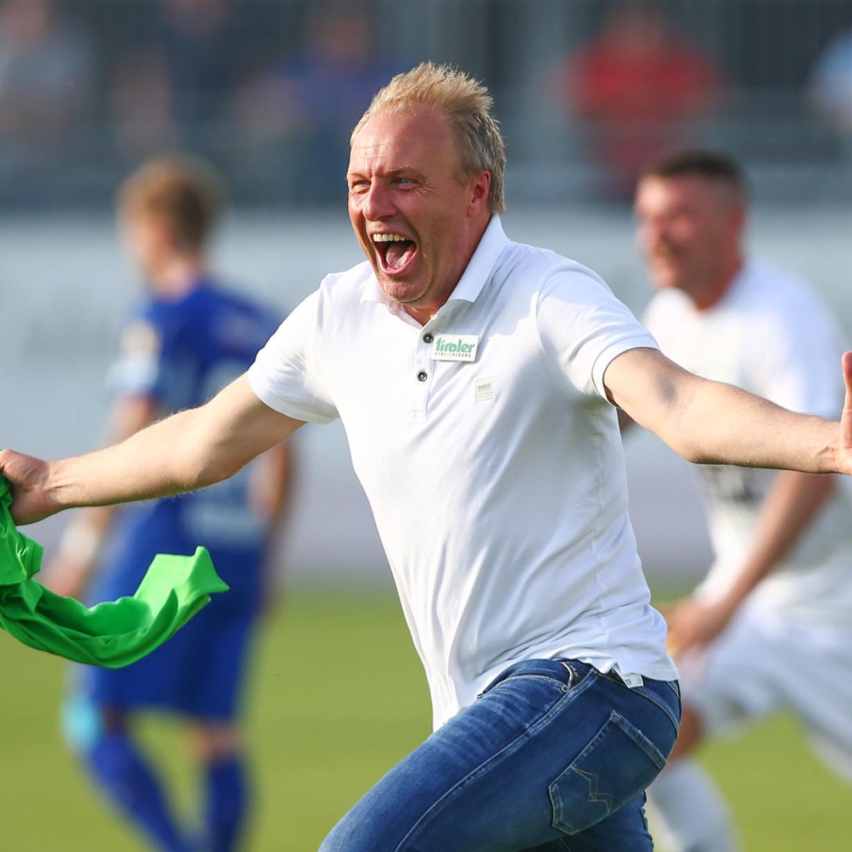 """Tirol-Coach Silberberger: """"Wir haben eine historische Chance"""""""