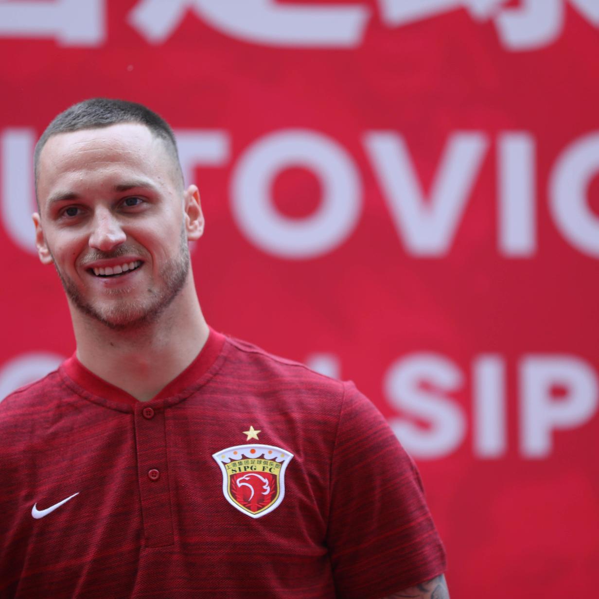 Beim China-Debüt: Arnautovic traf für Neo-Klub Shanghai