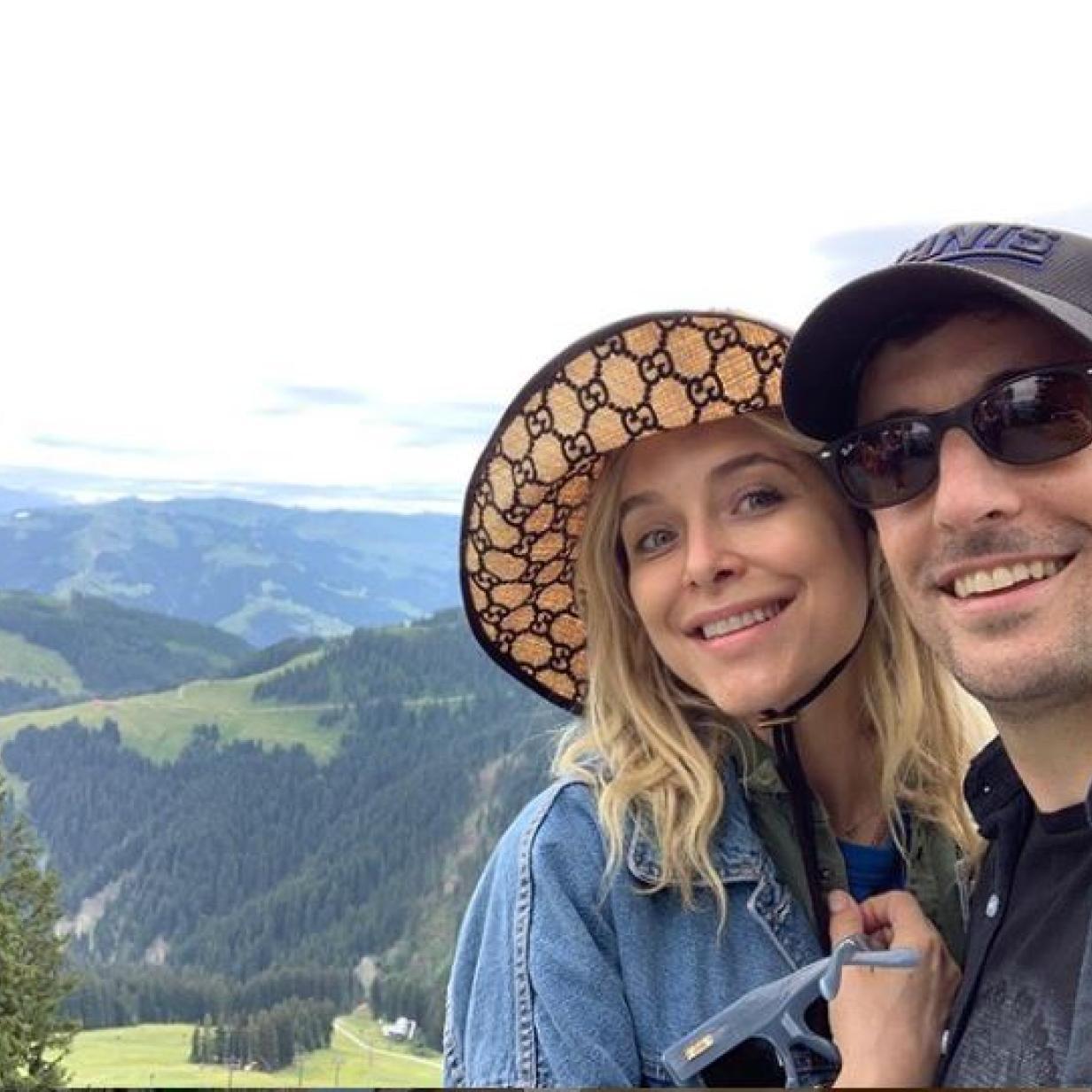 Hollywood-Star Jason Biggs feierte Hochzeitstag in Österreich
