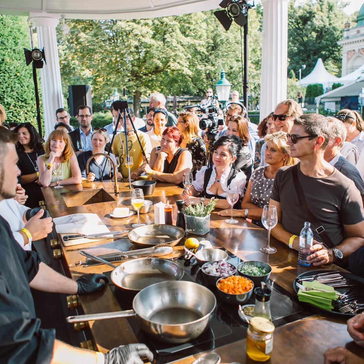 Wiener Genuss-Event: 100 Küchenchefs treffen 100 Winzer