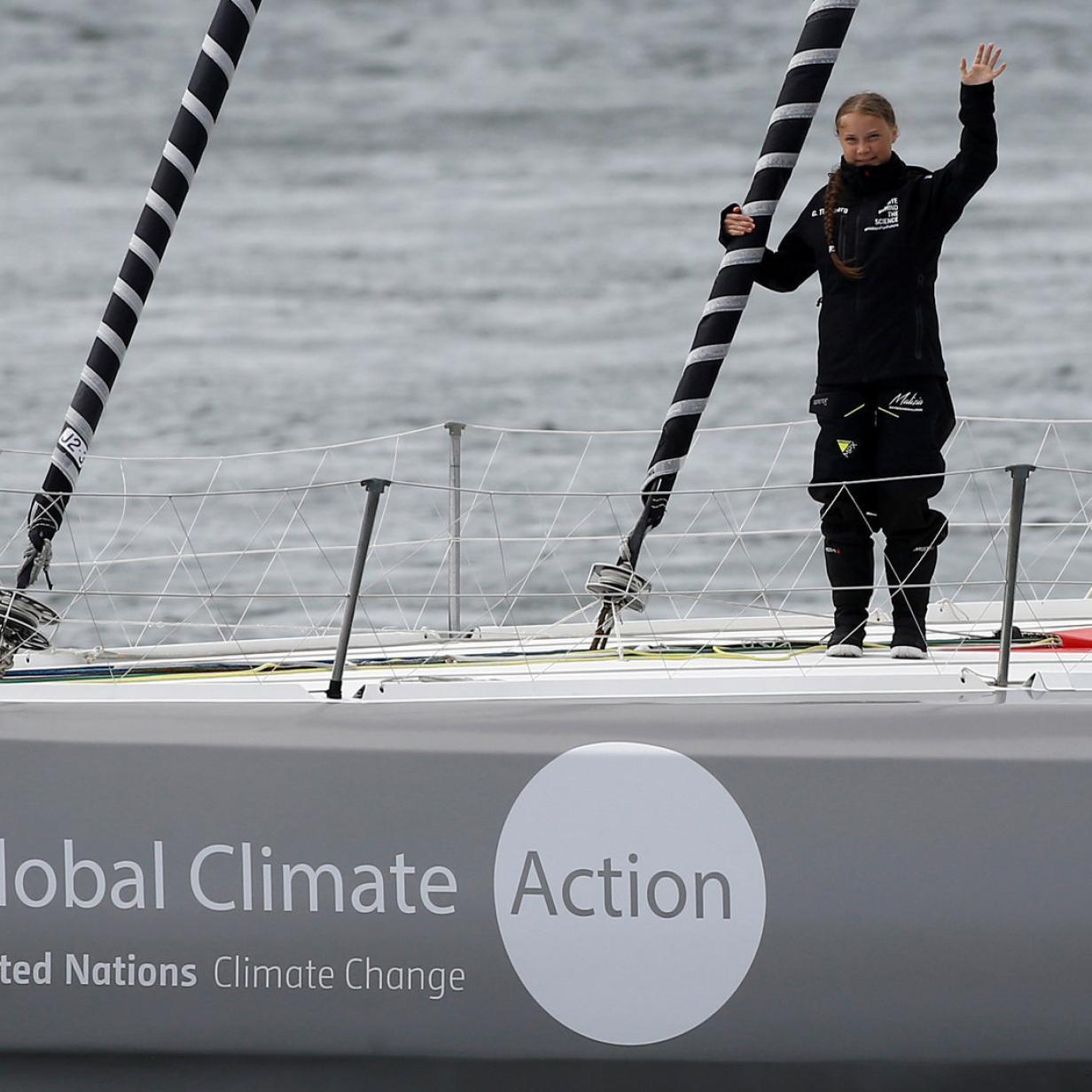 Nicht nur Greta: Klimaaktivisten stechen in See