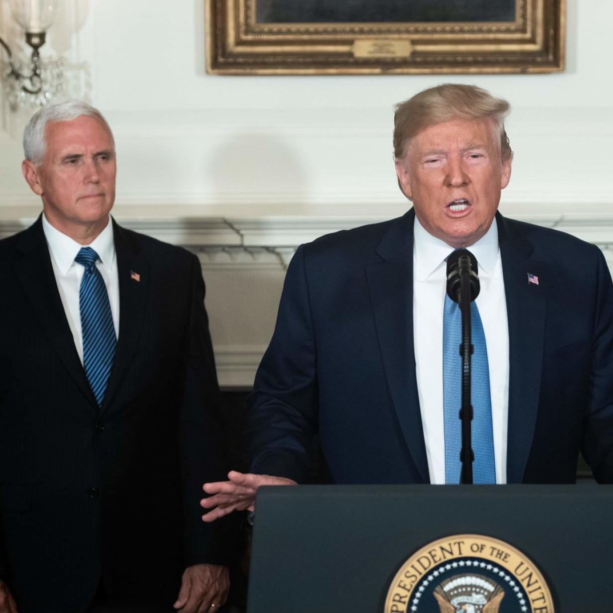 Trump will 2020 erneut mit Pence in den US-Wahlkampf gehen