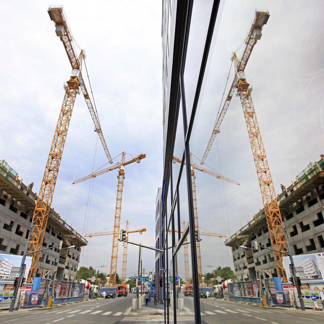 Baubranche boomt weiterhin