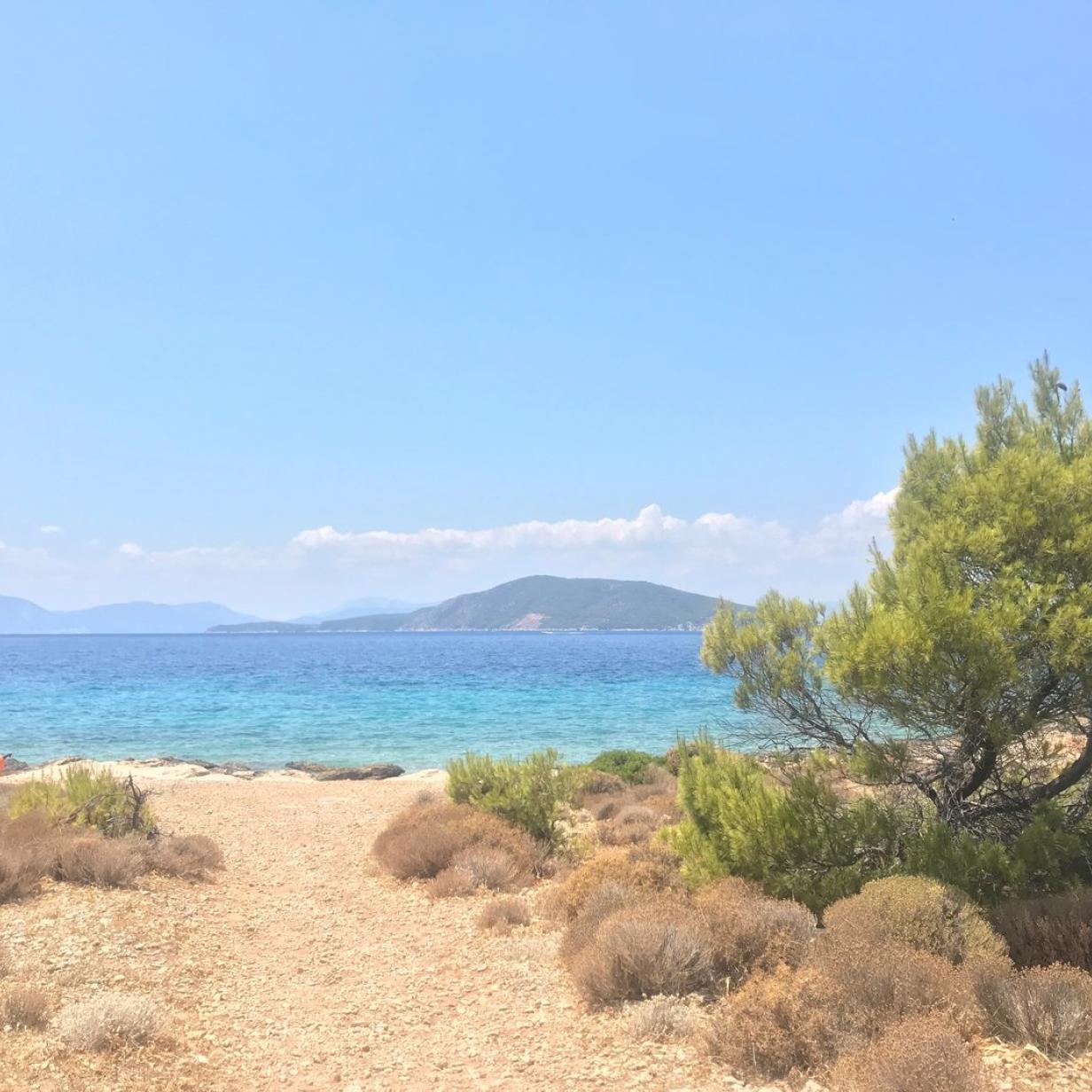 Insel Moni, das kleine Paradies in Griechenland