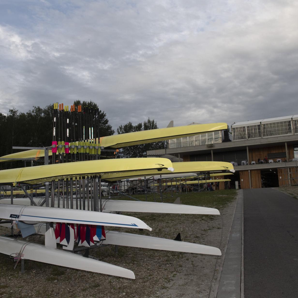 Donau: Ruderer wird auf der WM-Strecke vermisst