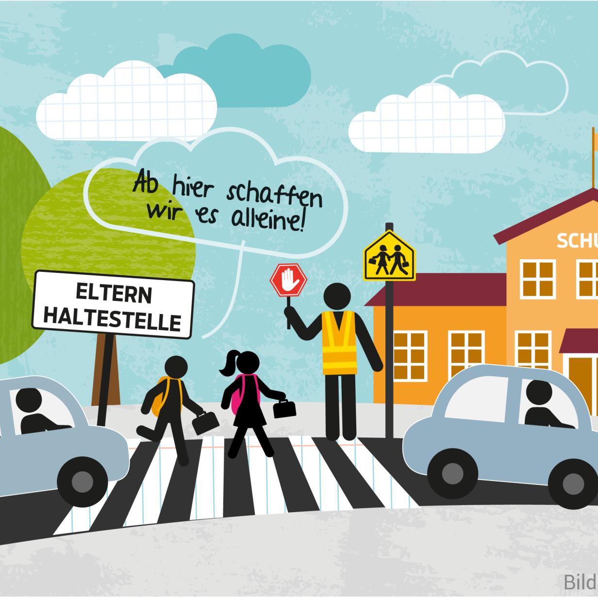 Notbremse für Eltern-Taxis: Diese Schulen verbannen Autos