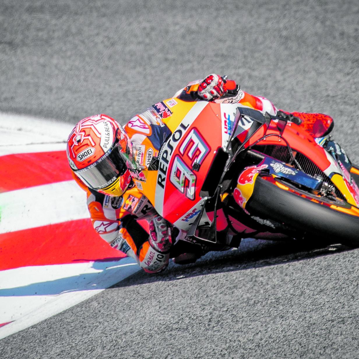 MotoGP: Marquez in Silverstone auf Pole, Rossi gleich dahinter