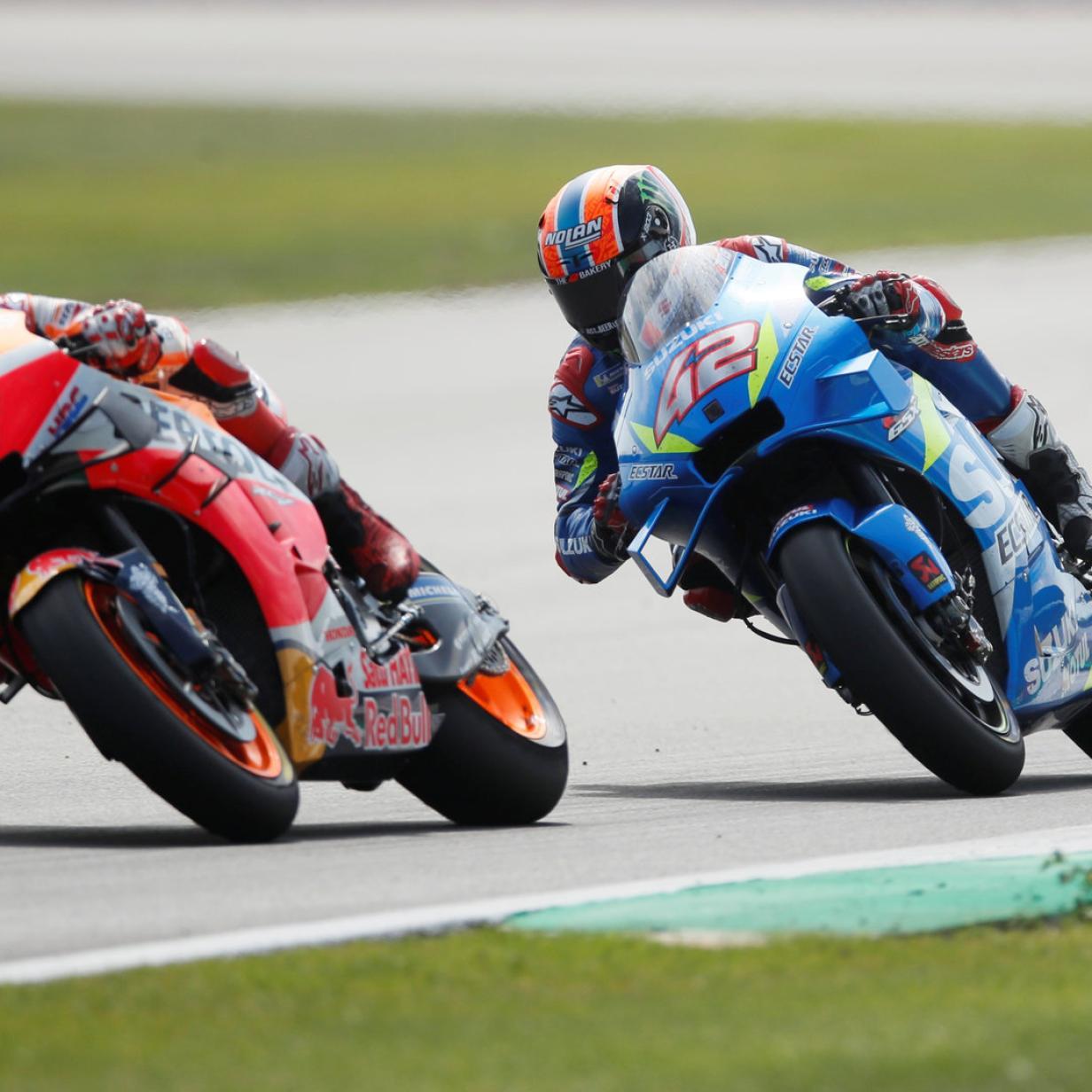 Alex Rins gewinnt das MotoGP-Spektakel in Silverstone