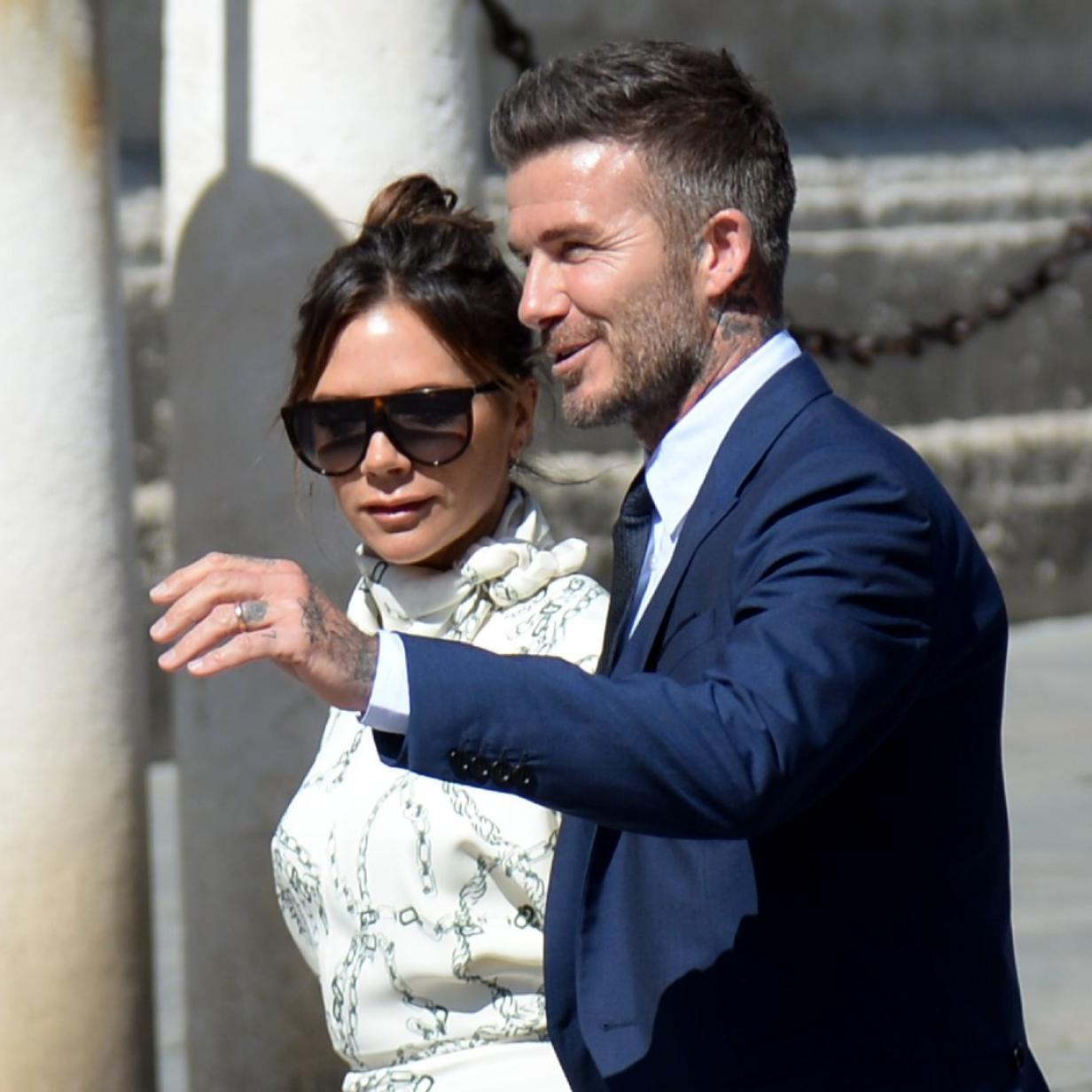 Victoria und David Beckham genießen Auszeit bei Elton John