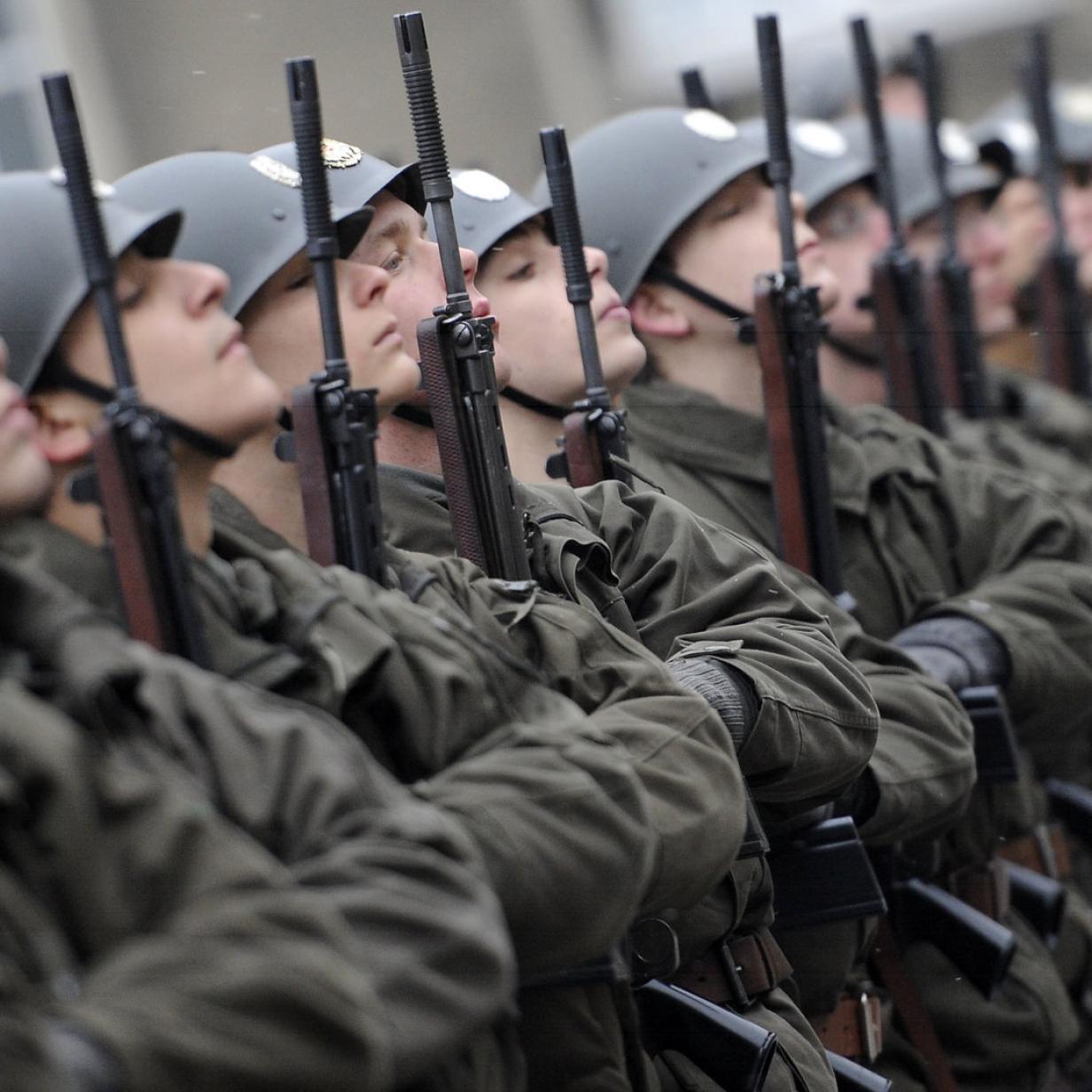 Der düstere Zustand des Heeres