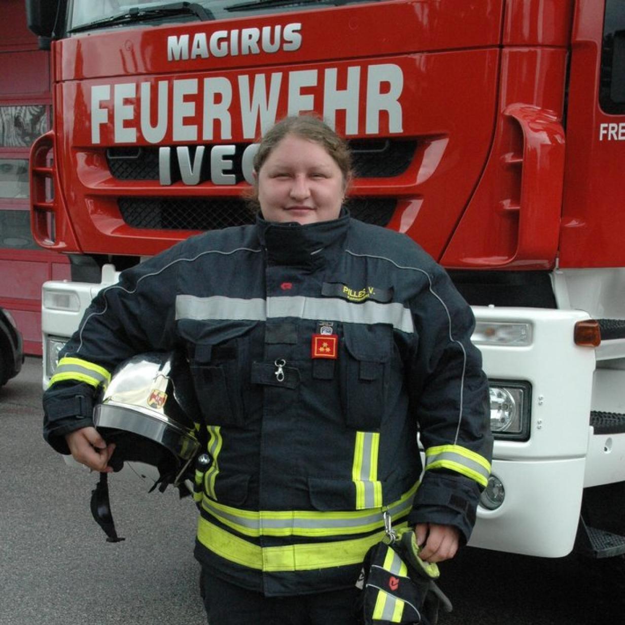 Feuerwehr Neudörfl hat einzige Kommandantin des Landes
