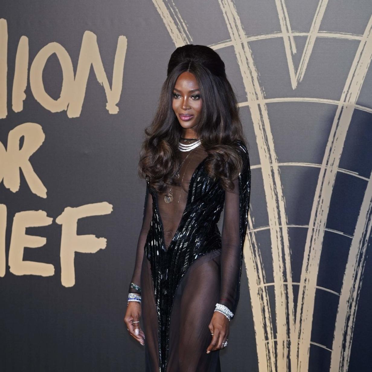 Mit diesem Kleid beweist Naomi Campbell: Alter ist nur eine Zahl