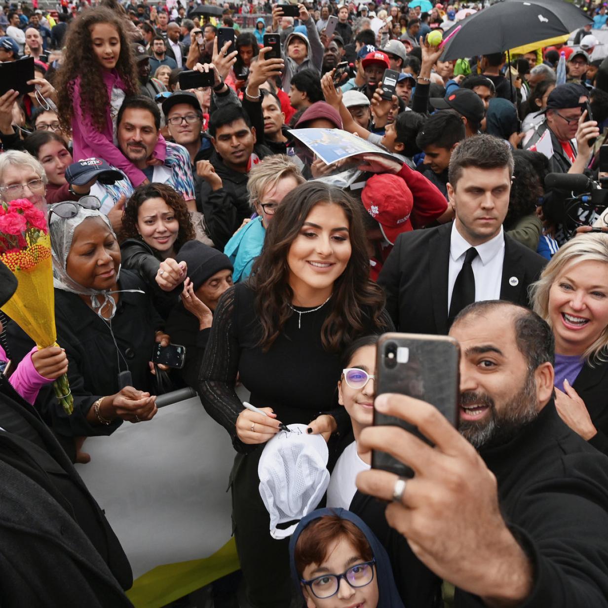 US-Open-Siegerin Bianca Andreescu in Heimatstadt gefeiert
